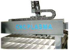 Metalworking CNC plasma cutting machine «ArtPlasma». Metal cutting equipment.